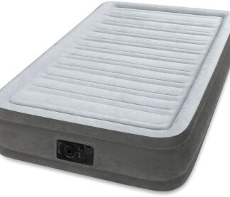 Матрас надувной со встроенным насосом 220 В COMFORT-PLUSH INTEX 99 х 191 х 33 см (67766)