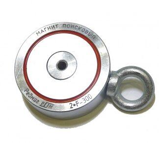 Магнит поисковый F=300 кг х 2 РЕДМАГ