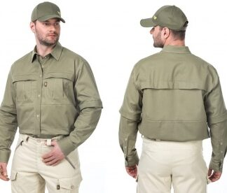 Рубашка от клещей мужская БИОСТОП КОМФОРТ