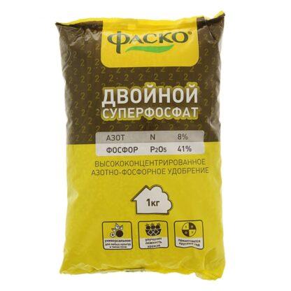 Удоб Суперфосфат  двойной азот-фосфорное 1кг /25