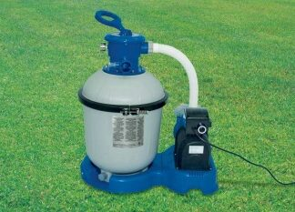 Песочный фильтрующий насос INTEX KRYSTAL CLEAR (56672)