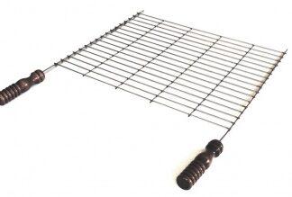 Решетка — барбекю большая для установки на мангал 500 х 400 мм