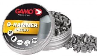 Пульки пневматические GAMO G-HAMMER 4,5 мм уп. 200 шт