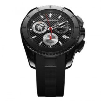 Часы Молния ENERGY черный стальной циферблат