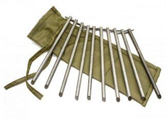 Набор колышков из алюминия 8 х 180 мм уп.10 шт