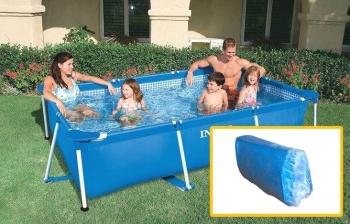 Ванна для каркасного бассейна RECTANGULAR FRAME INTEX 220 х 150 х 60 см