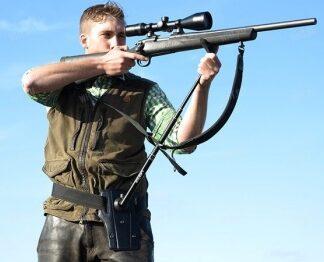 Упор для ружья телескопический поясной STEADIFY STABILIZER