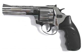 ТАУРУС-СО Револьвер охолощенный кал. 10ТК (хром) длина ствола 4,5″