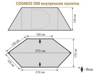 ВНУТРЕННЯЯ ПАЛАТКА ДЛЯ COSMOS 500 MAVERICK