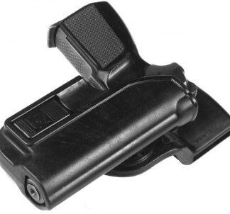 Кобура пластиковая АЛЬФА для ПММ с полицейским креплением STICH PROFI