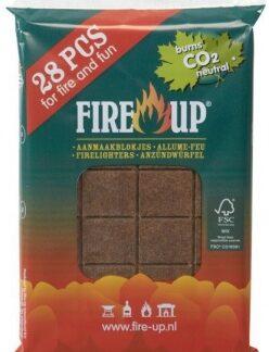 Брикеты для розжига угля FIRE UP уп. 28 шт