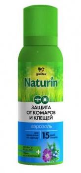 Аэрозоль от клещей и комаров GARDEX NATURIN 100 мл