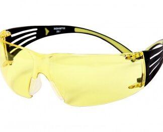 Очки стрелковые PELTOR 3M SecureFit 403 желтые с покрытием AS/AF