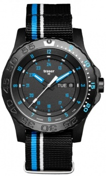 Часы Traser H3 BLUE INFINITY текстиль