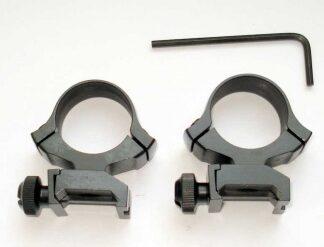 Кольца CZ на планку weaver 25,4 мм