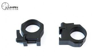 Кольца LUMAN PRECISION быстросъемные low (низкие) 30 мм