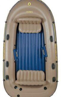 Лодка надувная EXCURSION 4 set INTEX (весла, насос ручной) 68324