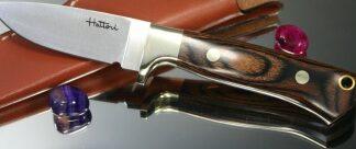 Нож туристический Hattori 90 мм