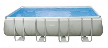 Бассейн каркасный INTEX RECTANGULAR ULTRA FRAME 549 х 274 х 132 см (28352)