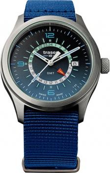 Часы Traser H3 ESSENTIAL M blue текстиль