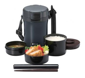 Термос для еды с контейнерами TIGER