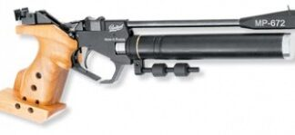 МР-672-02 Пистолет пневматический кал. 4,5 мм