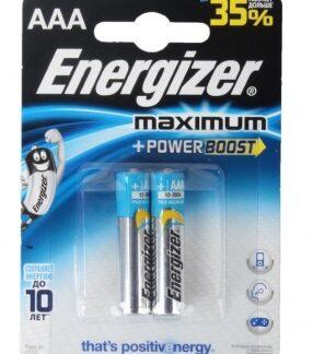 Батарейка Energizer MAXIMUM AAA LR03 уп. 2 шт