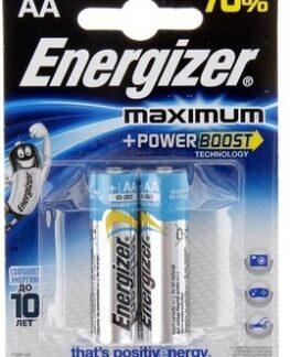 Батарейка Energizer MAXIMUM AA LR6 уп. 2шт