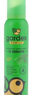 Аэрозоль-репеллент от комаров с алоэ вера GARDEX FAMILY 150 мл