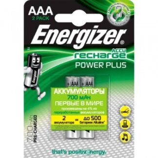Аккумулятор Energizer RECHARGE POWER PLUS AAA HR03 700 mAh уп. 2 шт