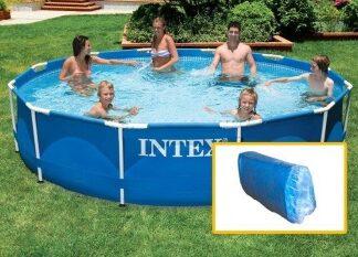 Ванна для каркасного бассейна METAL FRAME INTEX 366 х 76 см