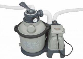 Песочный фильтрующий насос INTEX KRYSTAL CLEAR (28644)