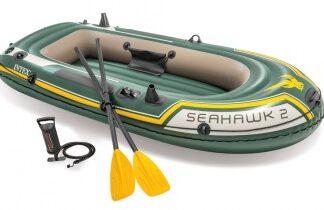 Лодка надувная SEAHAWK 2 set INTEX уценка