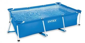 Бассейн каркасный INTEX RECTANGULAR FRAME 220 х 150 х 60 см (28270)