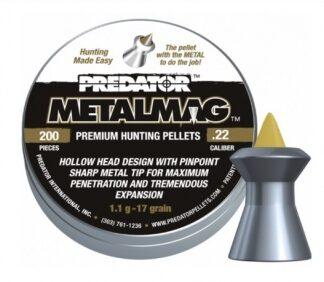 Пульки пневматические JSB PREDATOR METALMAG 5,5 мм уп. 200 шт