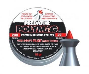 Пульки пневматические JSB PREDATOR POLYMAG 5,5 мм уп. 200 шт