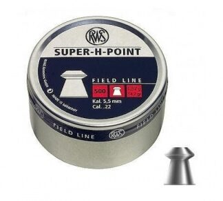 Пульки пневматические RWS SUPER-H-POINT 5,5 мм уп. 500 шт
