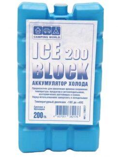 Аккумулятор холода CAMPING WORLD ICE 200 BLOCK