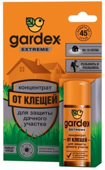 Концентрат для защиты дачного участка от клещей GARDEX EXTREME 50 мл
