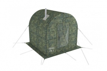 Баня — палатка БЕРЕГ ПБ-1 (пиксель)