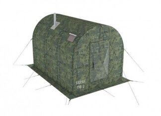 Баня — палатка БЕРЕГ ПБ-2 (пиксель)