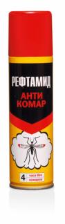 Аэрозоль РЕФТАМИД АНТИКОМАР 145 мл