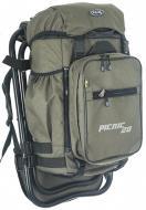 Рюкзак со стулом «Picnic» (20 литров — хаки)